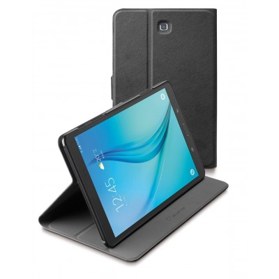 Samsung Galaxy Tab A 9.7 tasje slim stand zwart Cellularline