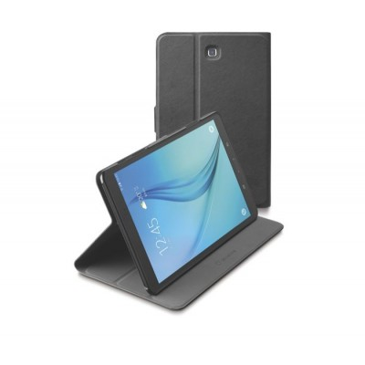Samsung Galaxy Tab E 9.6 tasje slim stand zwart Cellularline