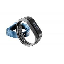 Fitness tracker touchscreen BT blauw