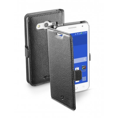 Samsung Galaxy Core 2 housse book essential noir Cellularline
