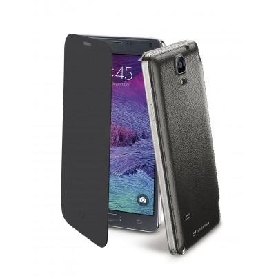 Samsung Galaxy Note 4 case flip book black Cellularline