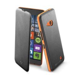 Microsoft Lumia 640 tasje book slim zwart