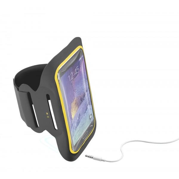 Cellularline Armband fitness tot 5.5-inch Zwart