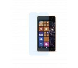 Nokia Lumia 535 screen protector second glass transparant Cellularline