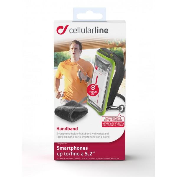 Cellularline Handband sport tasje zwart