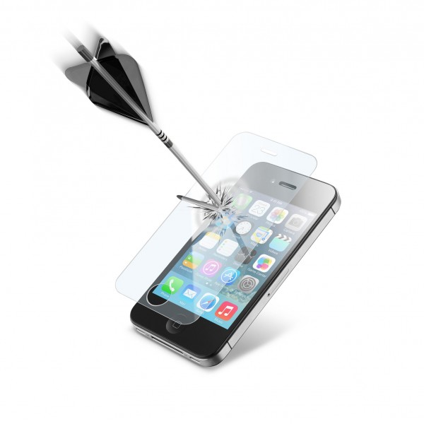 Cellularline iPhone 4/4s screen protector second glass transparant
