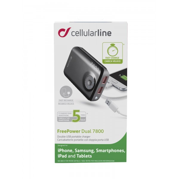 FREEPOWER7800TABW Cellularline