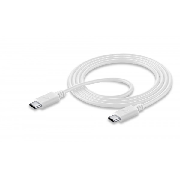 Cellularline USB-kabel Usb kabel usb-c naar usb-c 12m wit
