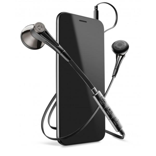 Cellularline In-ear HPH firefly pro met afstandsbediening zwart
