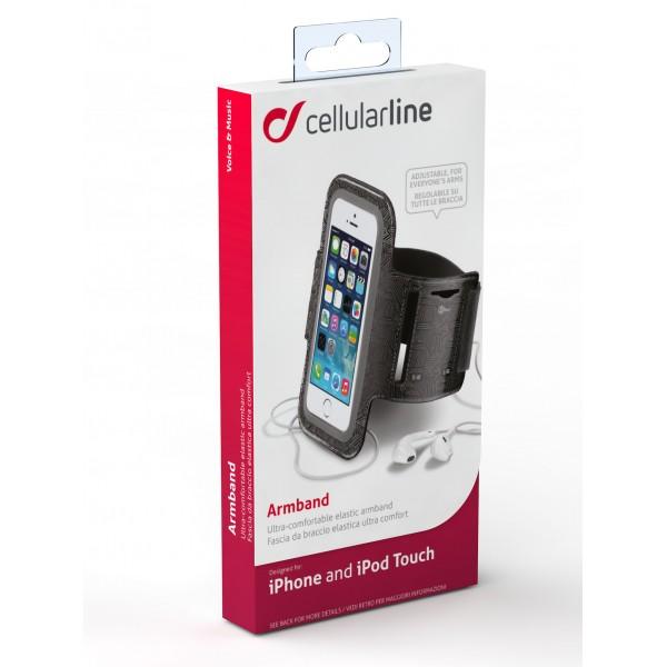 Cellularline Armband Apple zwart