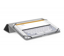 """Tablet 10.5"""" hoesje click case zwart Cellularline"""