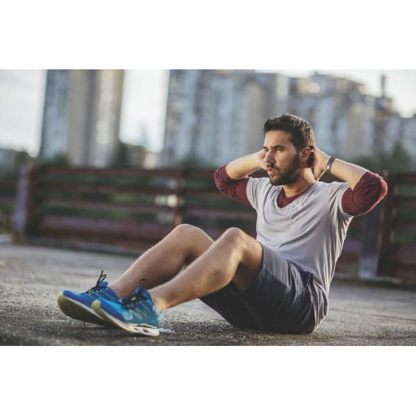 Cellularline Fitness tracker touchscreen BT hartslag monitor zwart