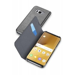 Samsung Galaxy S8 Plus book essential hoesje zwart