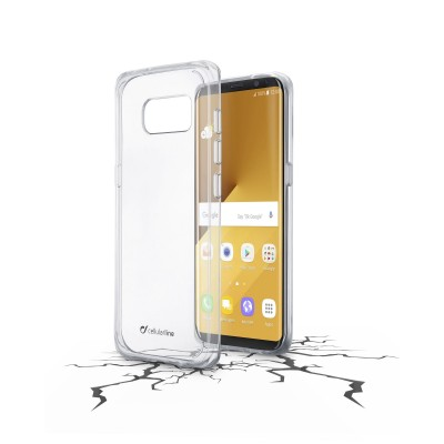 Samsung Galaxy S8 Plus cover clear duo transparant Cellularline