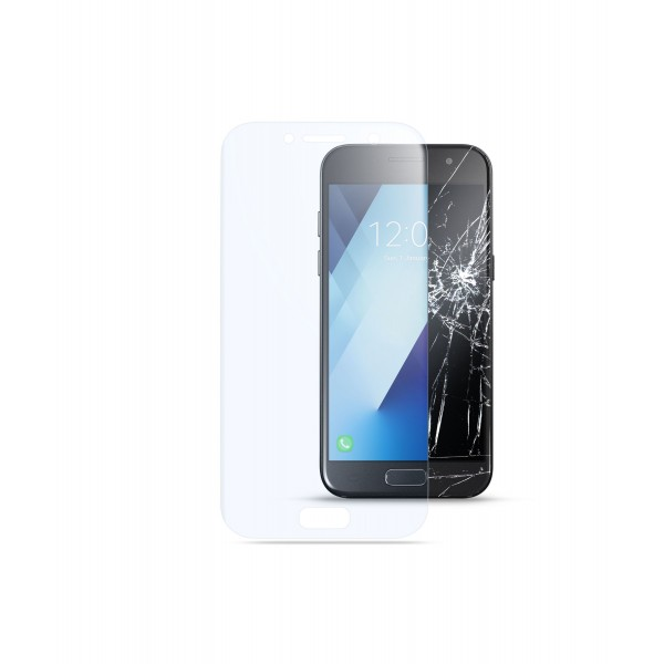 Cellularline Samsung Galaxy A3 (2017) SP tempered glass capsule transparant