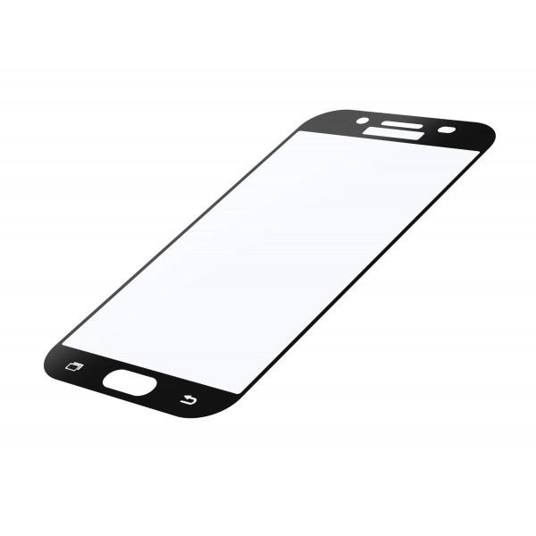 Cellularline Samsung Galaxy J3 (2017) SP tempered glass capsule zwart
