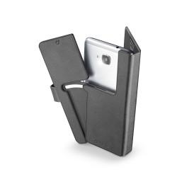 Book universal smartphone slide&snap 2XL zwart
