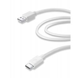 Usb kabel usb-a naar usb-c 2m tablet wit