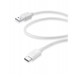 Usb kabel usb-a naar usb-c 60cm wit