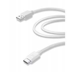 Usb kabel usb-a naar usb-c 2m wit