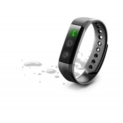 Fitness tracker BT easy fit band zwart