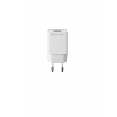 Reislader usb 5W/1A Samsung wit Cellularline