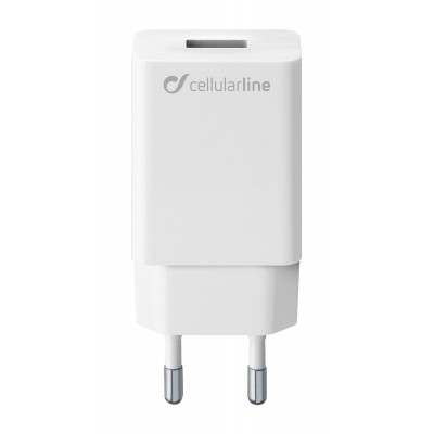 Reislader usb 10W/2A Samsung wit Cellularline
