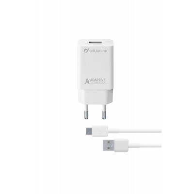 Reislader kit 15W usb-c Samsung adaptive wit Cellularline