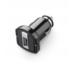 Autolader usb 5W/1A zwart Cellularline