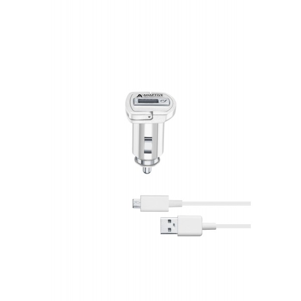 Cellularline Autolader Autolader kit 15W micro-usb Samsung adaptive wit