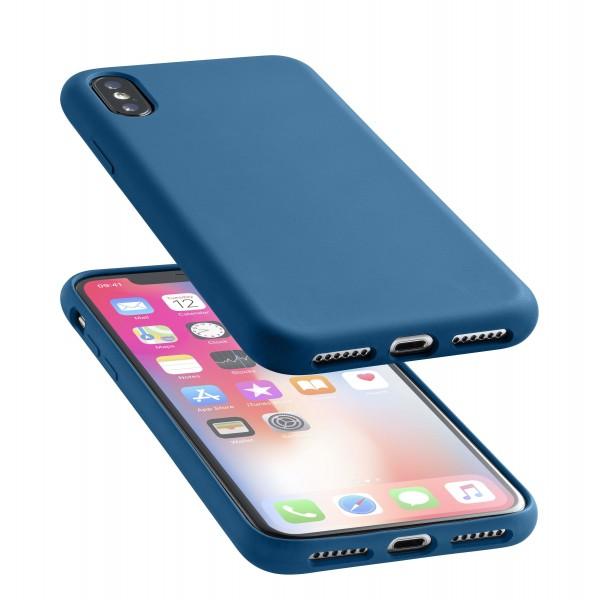 Cellularline iPhone Xs/X hoesje sensation blauw