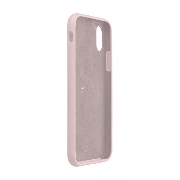 Cellularline iPhone Xs/X hoesje sensation roze