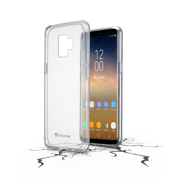 Cellularline Samsung Galaxy S9 Plus hoesje clear duo transparant