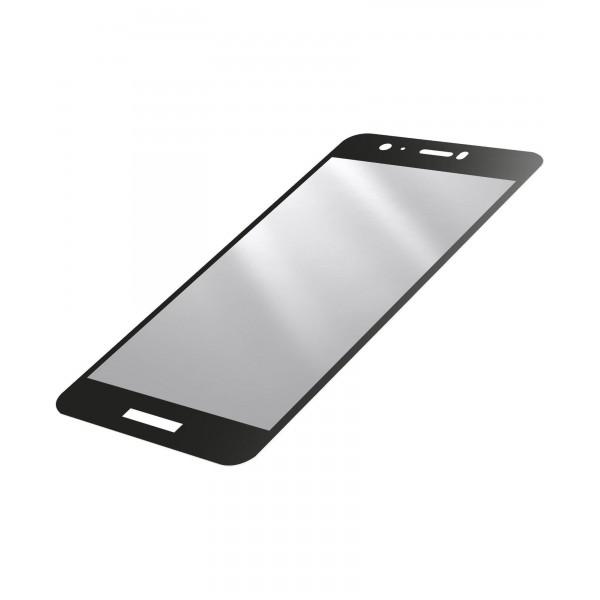 Cellularline Huawei P Smart SP gehard glas capsule zwart