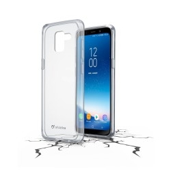 Samsung Galaxy A8 (2018) cover clear duo transparant