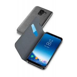 Samsung Galaxy A8 (2018) hoesje book essential zwart