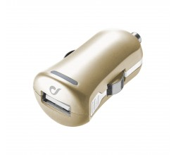 UD autolader usb 10W/2A Apple goud Cellularline