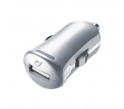 UD autolader usb 10W/2A Apple zilver Cellularline