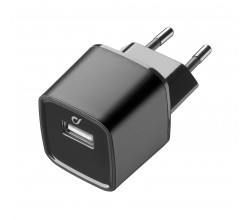 UD reislader usb 10W/2A Apple zwart Cellularline