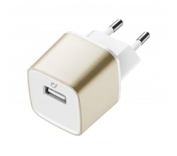 UD reislader usb 10W/2A Apple goud Cellularline