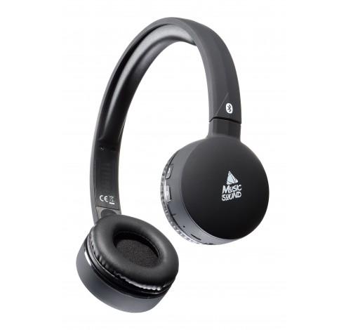 Hoofdtelefoon BT on-ear HPH BT zwart  Cellularline