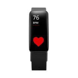 Fitness tracker hartmonitor BT zwart