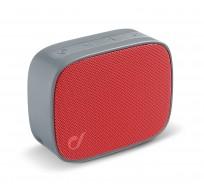 Fizzy mini luidspreker BT grijs/rood