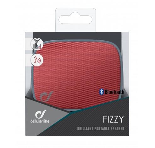Fizzy mini luidspreker BT grijs/rood  Cellularline