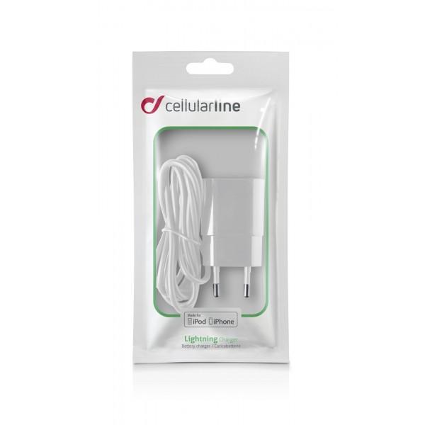 CLB Reislader Apple lightning wit Cellularline