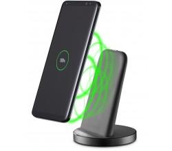 Draadloze laad-stand fast charge usb-c zwart Cellularline