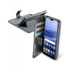 Huawei P20 Lite hoesje book agenda zwart