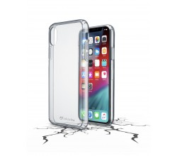 iPhone Xs Max hoesje clear duo transparant Cellularline