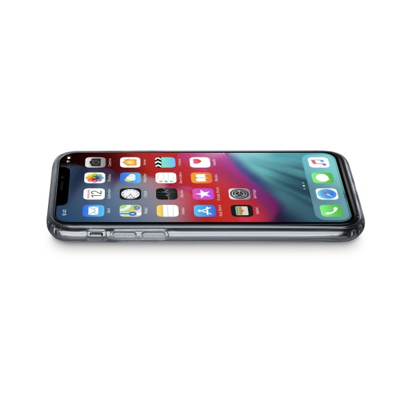 Cellularline iPhone Xs Max hoesje clear duo transparant