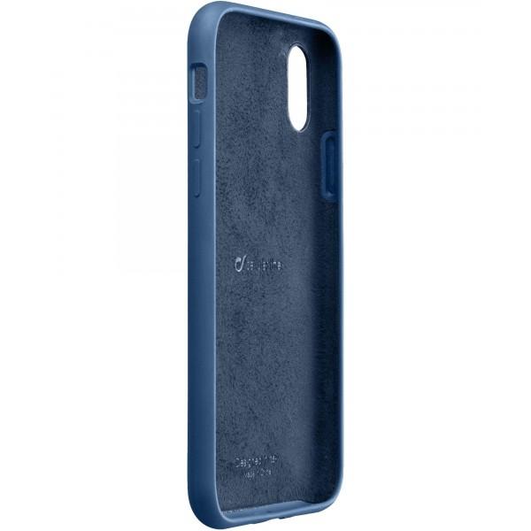 Cellularline iPhone Xs Max hoesje sensation blauw